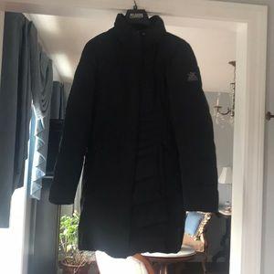 Black 3/4 winter puffy coat